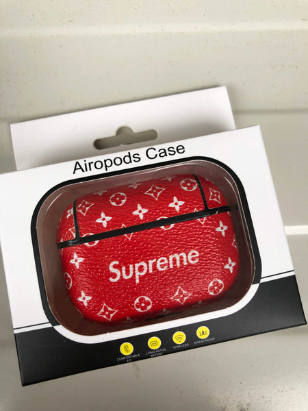 Airpod Pro Case, Luxury Airpod Case for Apple Airpod Pro | Supreme