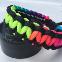 Hydro Flask Paracord Handle | Rainbow
