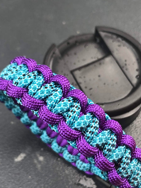 Hydro Flask Paracord Handle | Mermaid Tail