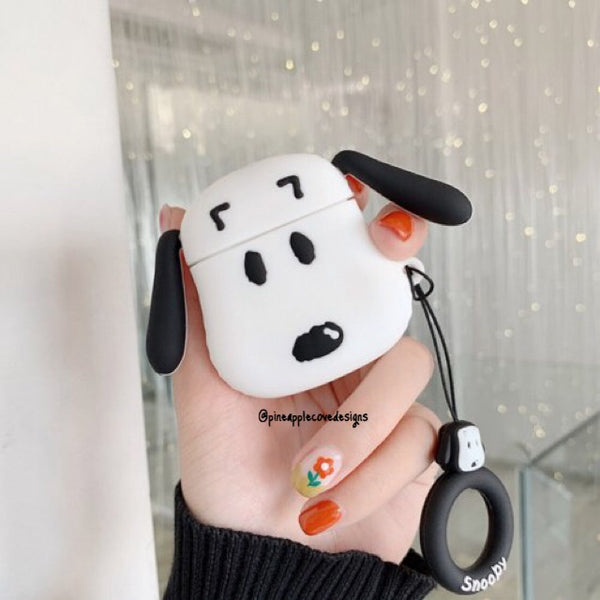 Airpods Case for Apple Airpods 1 and 2 | Snoopy