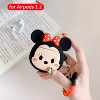 Airpods Case for Apple Airpods 1 and 2 | Disney Tsum Tsum Minnie Mouse