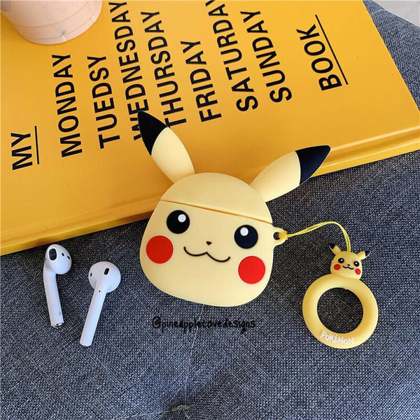 Airpods Case for Apple Airpods 1 and 2 | Pikachu