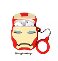 Airpods Case for Apple Airpods 1 and 2 | Iron Man