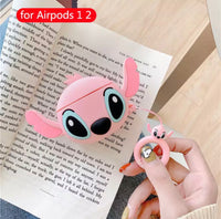 Stitch Airpods Case for Apple Airpods 1 and 2 | Disney Stitch or Angel