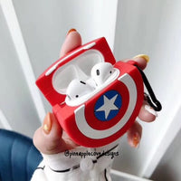 captain america airpods case