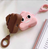 Airpods Case for Apple Airpods 1 and 2 | Poop Emoji