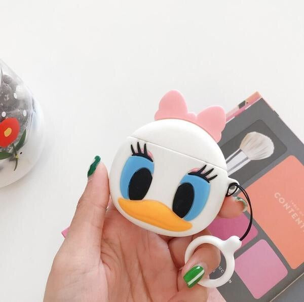 Airpods Case for Apple Airpods 1 and 2 | Disney Daisy Duck