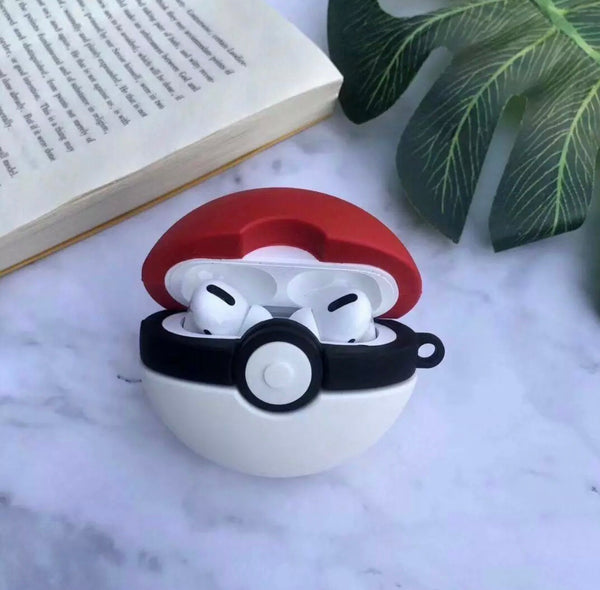 Airpods Pro Case for Apple Airpods PRO | Pokemon Ball Red