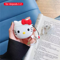 Airpods Case for Apple Airpods 1 and 2 | Hello Kitty