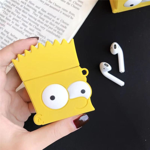 bart simpson airpods case