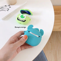 Airpods Case for Apple Airpods 1 and 2 | Monsters Inc Sully