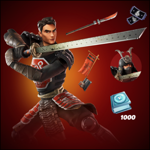 Fortnite Samurai Scrapper Pack Bundle Set - Exclusive Skins for Xbox One