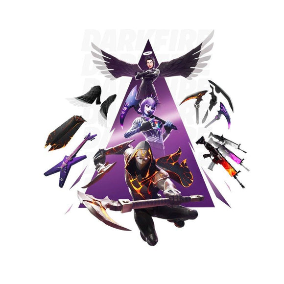DarkFire Fortnite bundle skin set