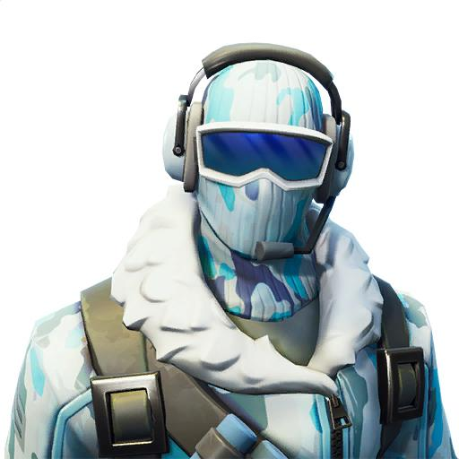 Deep Freeze Frostbite Fortnite bundle skin set