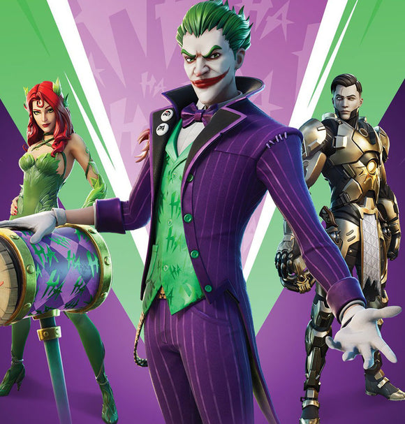 Fortnite The Last Laugh Bundle Set - Exclusive Skin for PC
