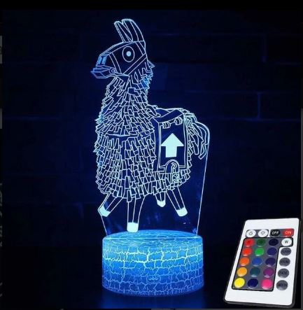 Fortnite Llama led lamp