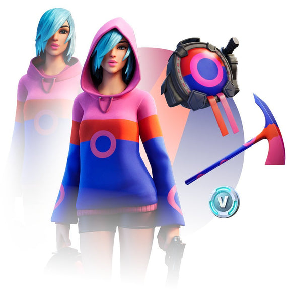 Fortnite Iris Pack Bundle Set - Exclusive Skins for Xbox One