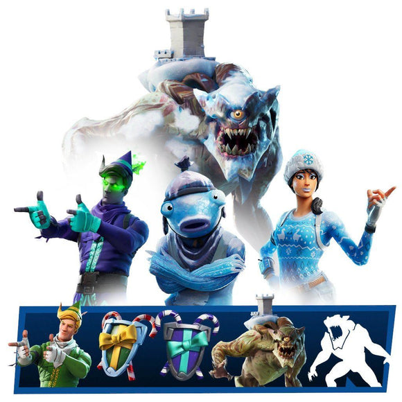 Polar Legends Fortnite bundle skin set