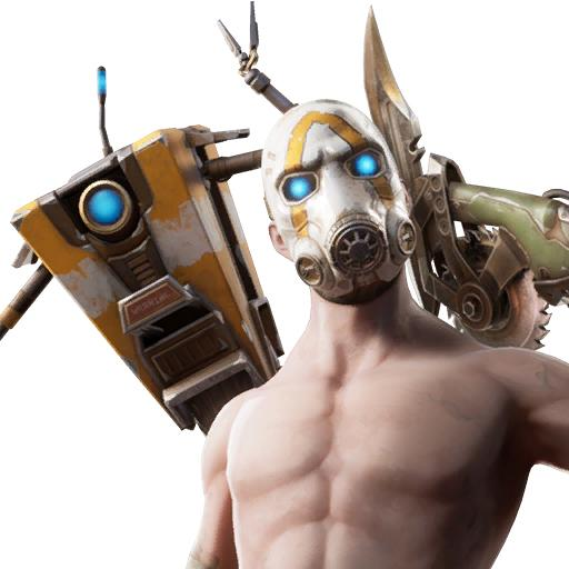 Psycho Fortnite bundle skin set