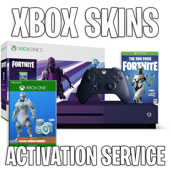 Xbox Skin Activation Service if you don't have an Xbox One console