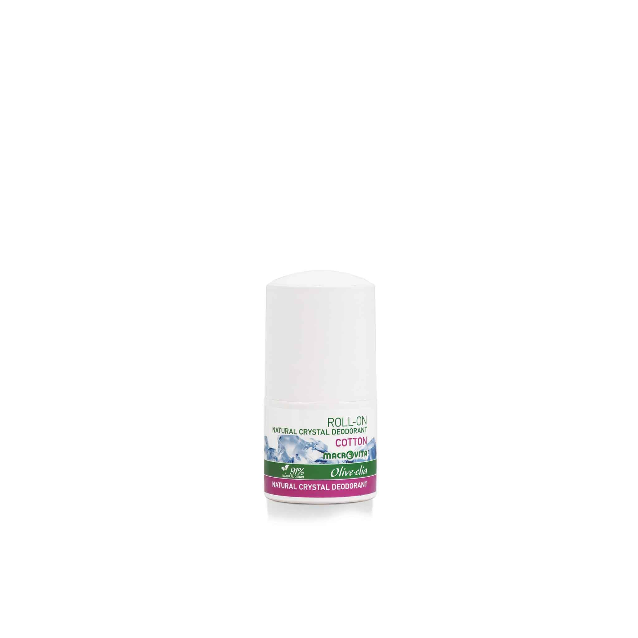 OLIVELIA COTTON DEO ROLL-ON