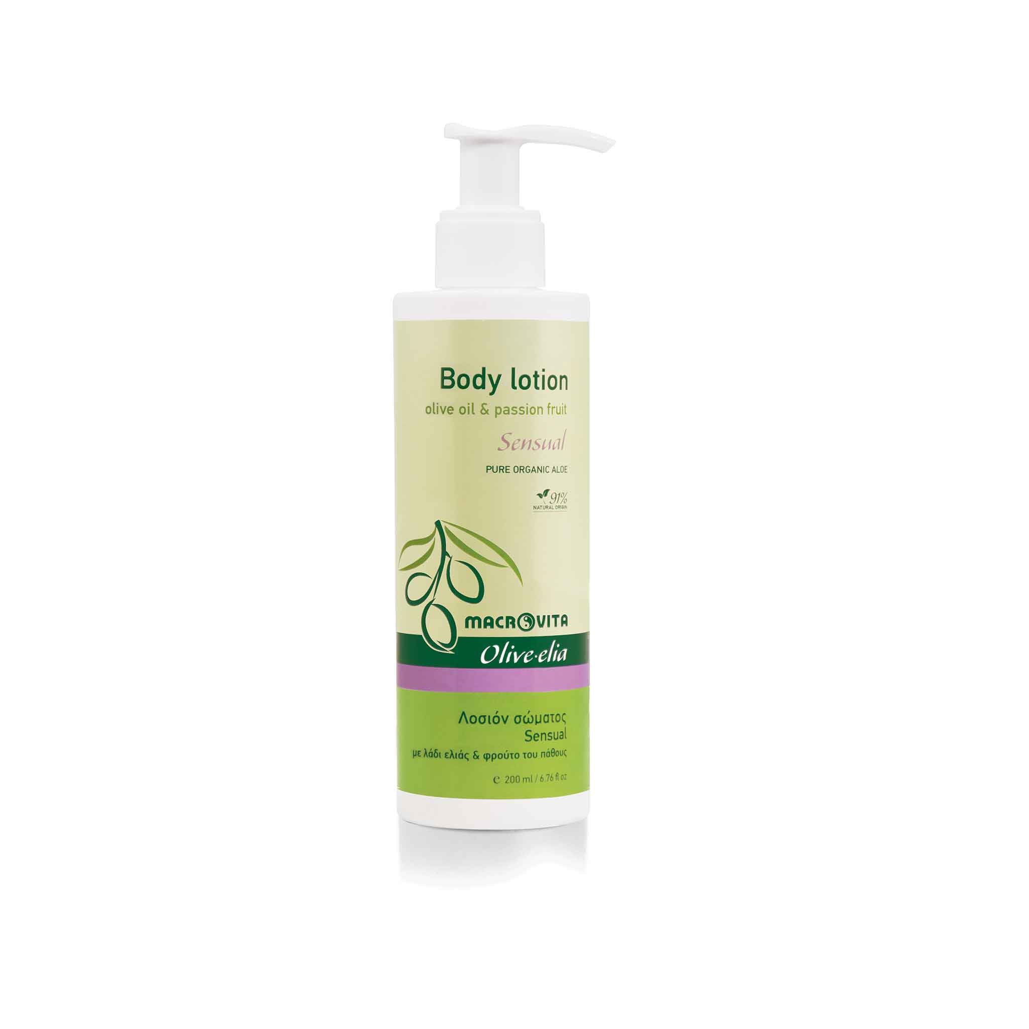 OLIVELIA BODY LOTION SENSUAL