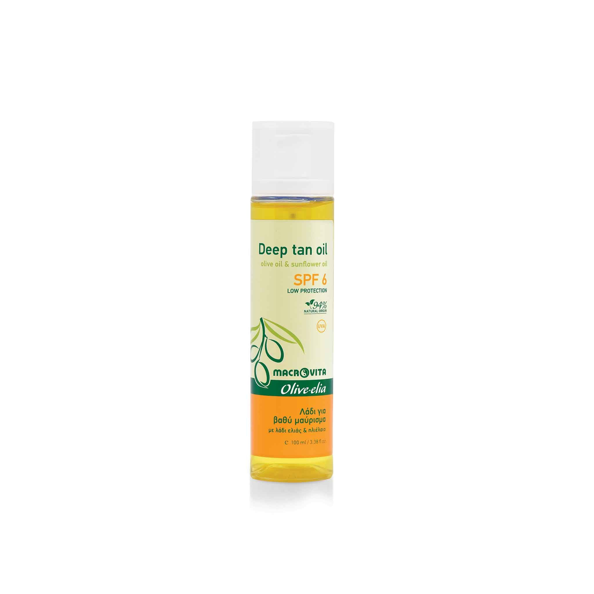 OLIVELIA DEEP TAN OIL SPF6