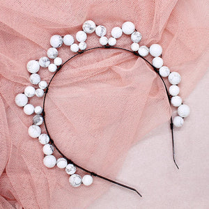 Jesy Pearl Crown Headband