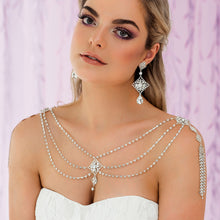 Load image into Gallery viewer, Nicola Bridal Shoulder Necklace
