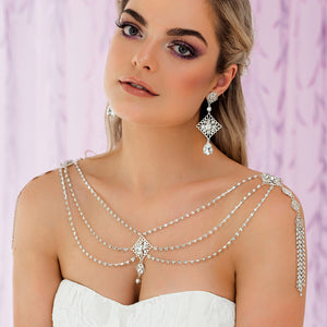 Nicola Bridal Shoulder Necklace