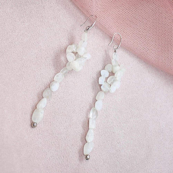 Bekki Moonstone Earrings