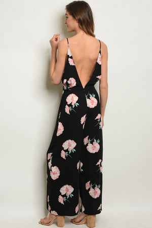HOT SUMMER NIGHTS FLORAL JUMPSUIT