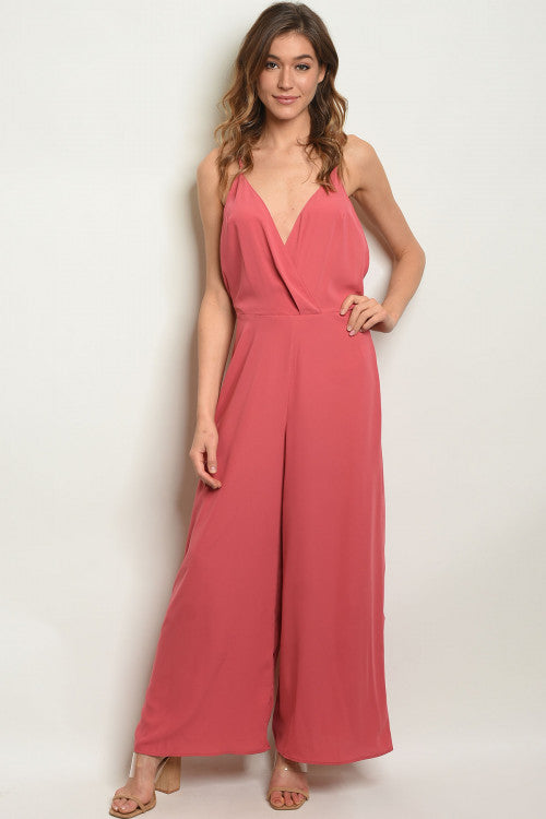 HOT SUMMER NIGHTS ROSE JUMPSUIT