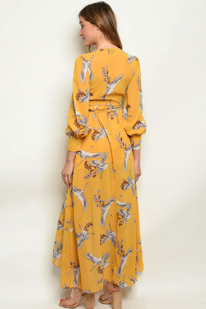 BYE BYE BIRDIE MAXI DRESS