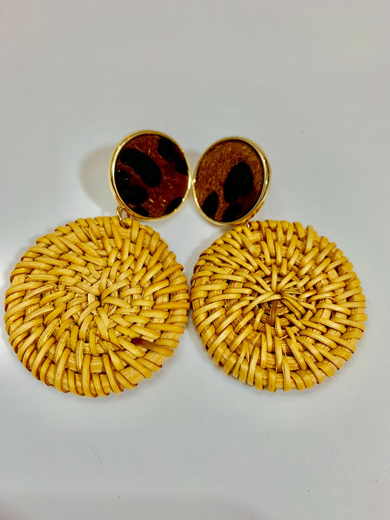 PICNIC BASKET EARRINGS