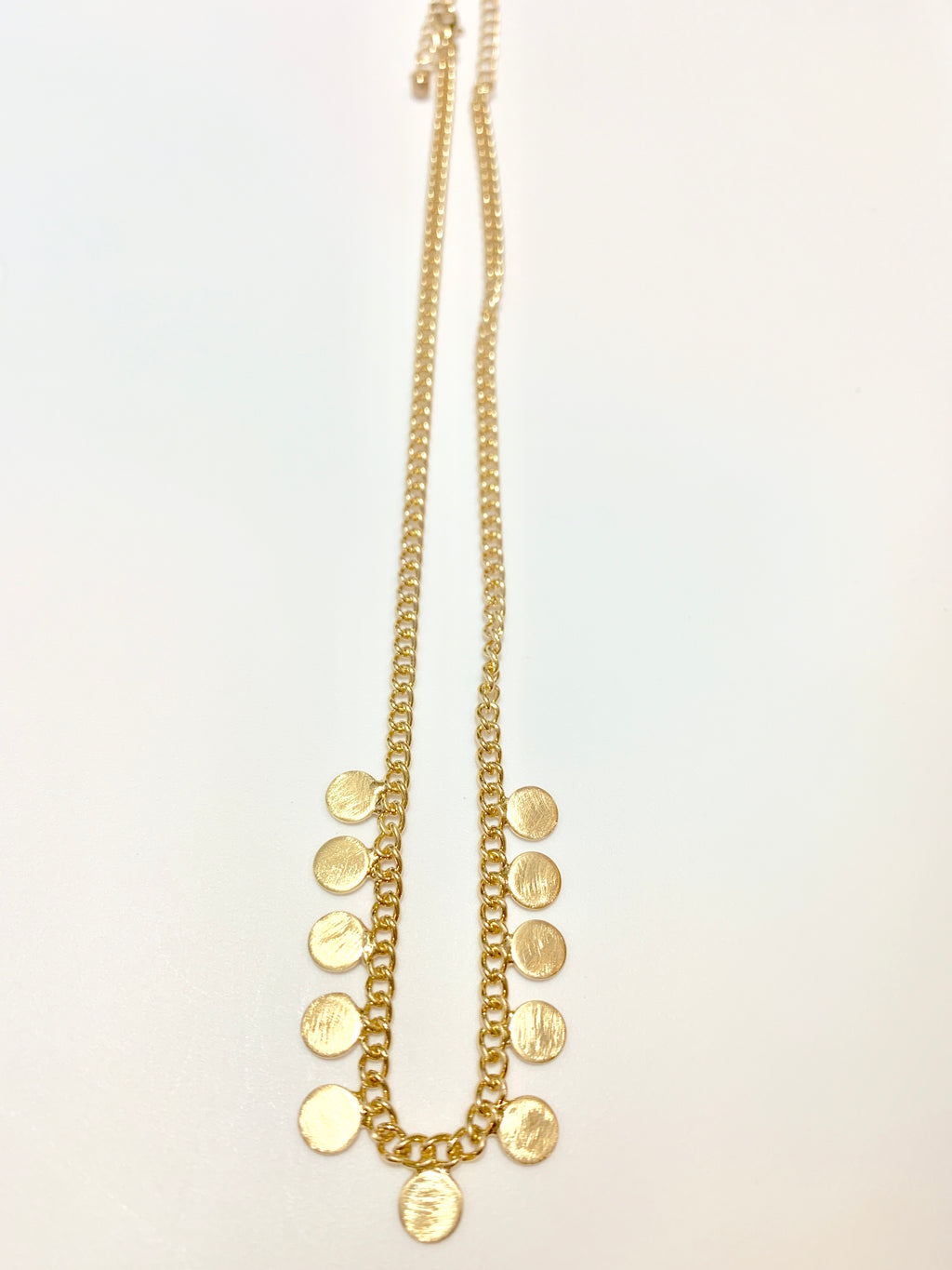 GOLD DROPS NECKLACE