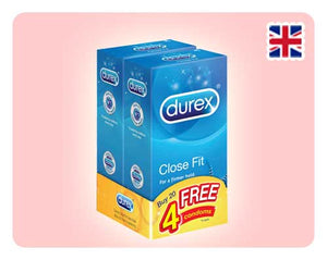 Durex Close Fit 12s x 2 Bundle - Happy Mail Singapore