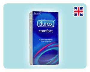 Durex Comfort 12s - Happy Mail Singapore