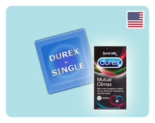 Load image into Gallery viewer, Durex Mutual Climax 1s