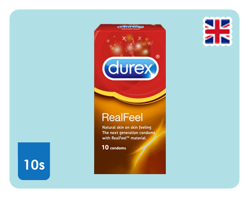Durex Real Feel 10s - Happy Mail Singapore
