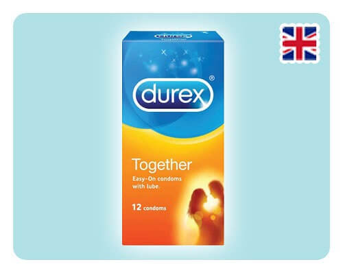 Durex Together 12s - Happy Mail Singapore