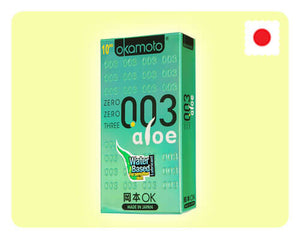 Okamoto 003 Aloe 10s - Happy Mail Singapore
