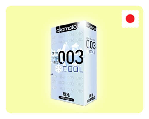 Okamoto 003 Cool 10s - Happy Mail Singapore