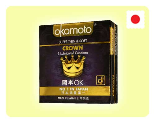 Okamoto Crown 3s - Happy Mail Singapore