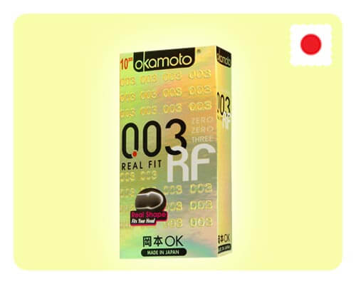 Okamoto 003 Real Fit 10s - Happy Mail Singapore