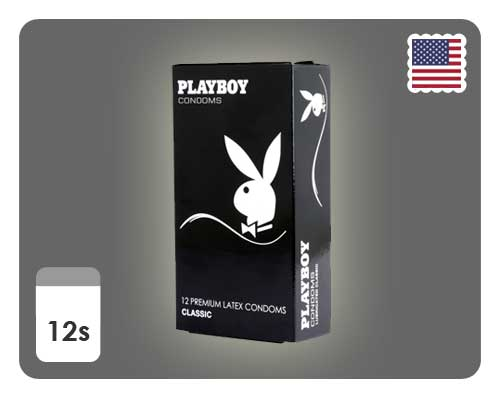 Playboy Lubricated Classic 12s - Happy Mail Singapore