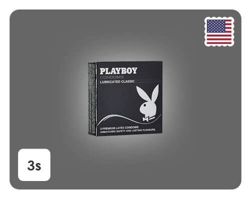 Playboy Lubricated Classic 3s - Happy Mail Singapore