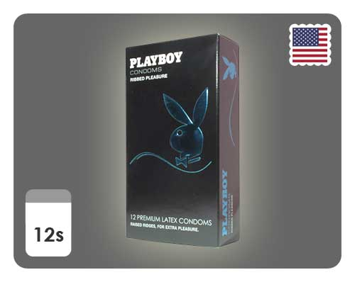 Playboy Ribbed Pleasure 12s - Happy Mail Singapore