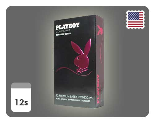 Playboy Sensual Berry 12s - Happy Mail Singapore