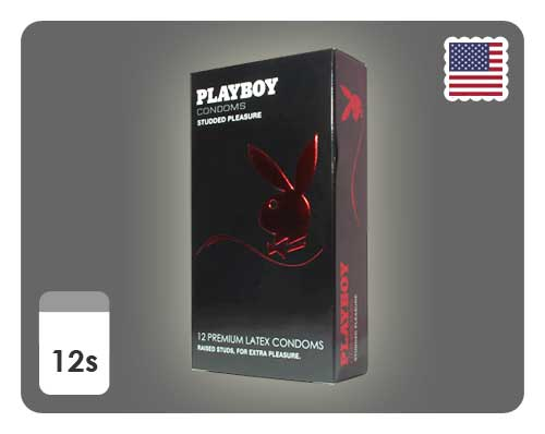 Playboy Studded Pleasure 12s - Happy Mail Singapore